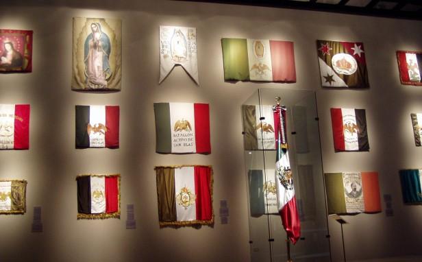 Banderas_Mexicanas