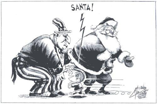 Welfare-santa